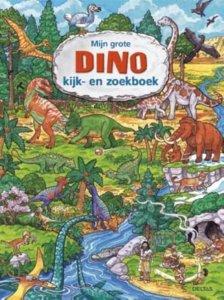 grote dino zoek en kijk boek