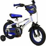 blauwe 12 inch fiets voor 4 jaar