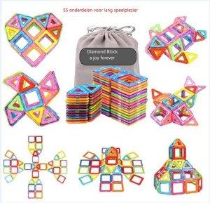 Magnetische bouwblokken