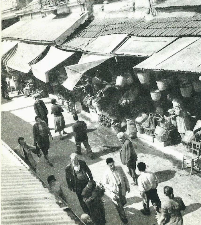 The market of Iraklion