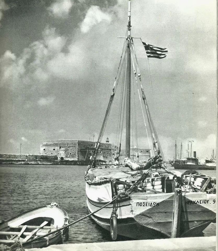 Iraklion Harbor