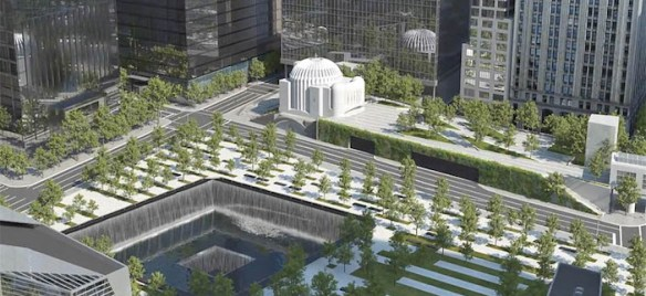 (Photos) Construction Has Commenced at St. Nicholas Church and National Shrine at World Trade Center