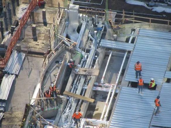 (Photos) Concrete Poured, St. Nicholas National Shrine at World Trade Center Taking Shape