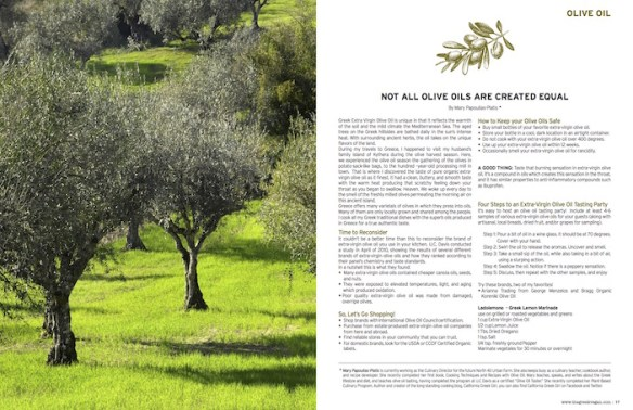 Greek Vegan Publishes Spring 2016 Edition of Nisteia Magazine