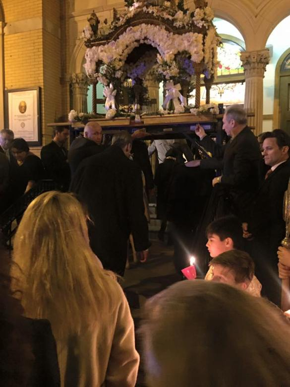 Chicago's Annunciation Cathedral Shares Passion of Jesus Christ with City Residents