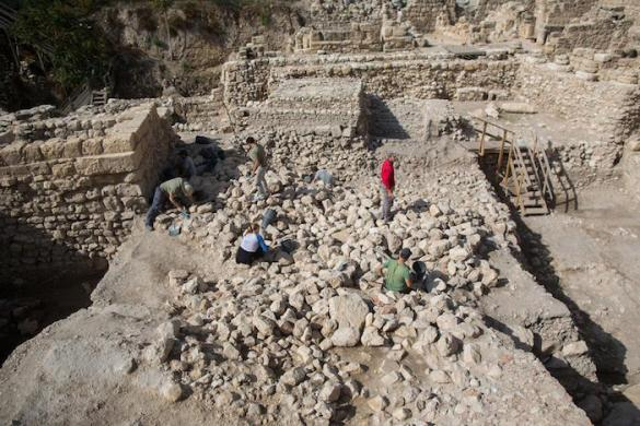 (Photos) Jerusalem Dig Uncovers Massive Ancient Greek Citadel