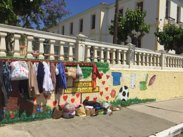 Photos of the Day: Walls of Kindness in Hania, Crete