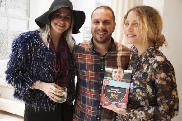 Greek Food Blogger Tassos Antoniou Debuts His Successful Cookbook in New York City