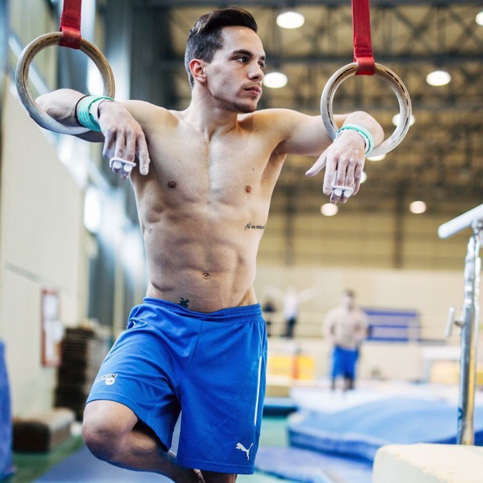 Greece's Eleftherios Petrounias Wins Gold in Rings ...