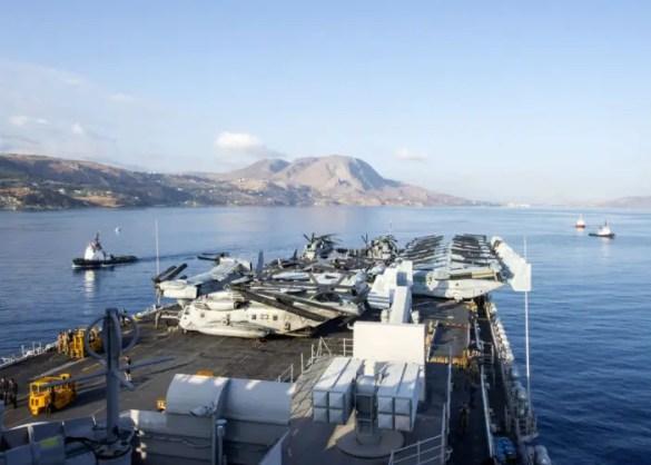 (Photos) Massive U.S. Warships in Greek Ports Point to Greece's Geostrategic Importance