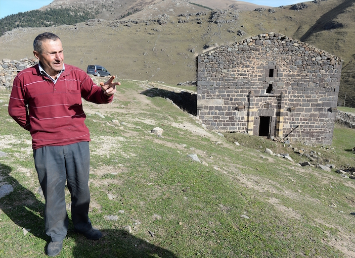 Adnan Zıvalı, a Turkish farmer and sheep herder and his family have guarded the church since the 1940s.