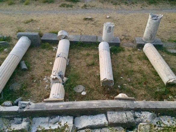 Damage to Kos Port, Cultural Heritage Sites, Metropolitan Cathedral