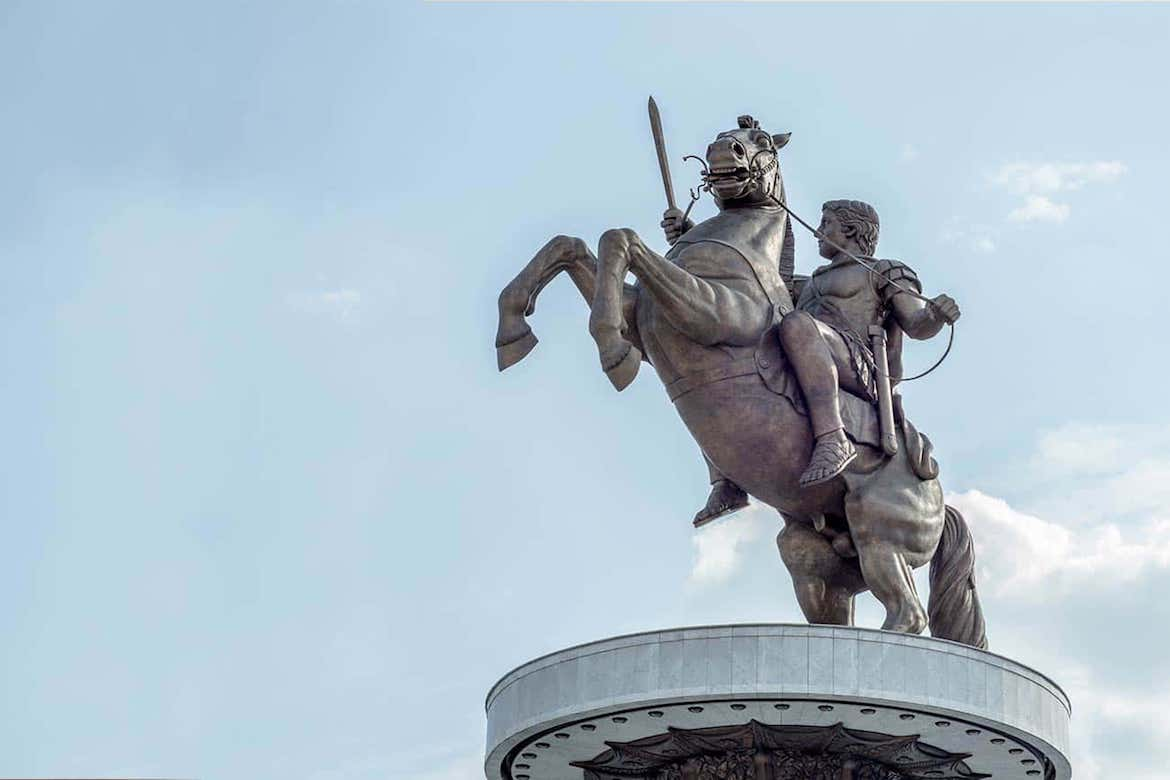 Reports From Skopje Claim Removal of Alexander the Great Statue, Name Change for Airport in Attempt to Placate Greece