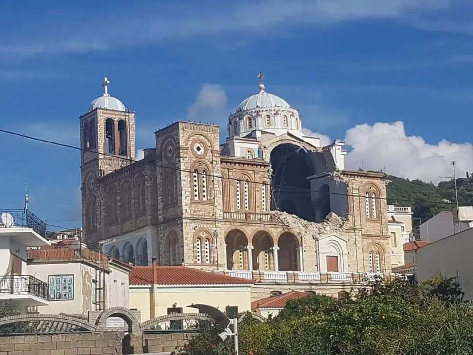Samos earthquake