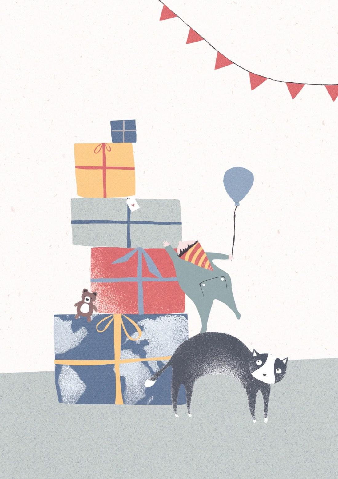 Geburtstagskind-Geschenkeberg-SOS Kinderdörfer