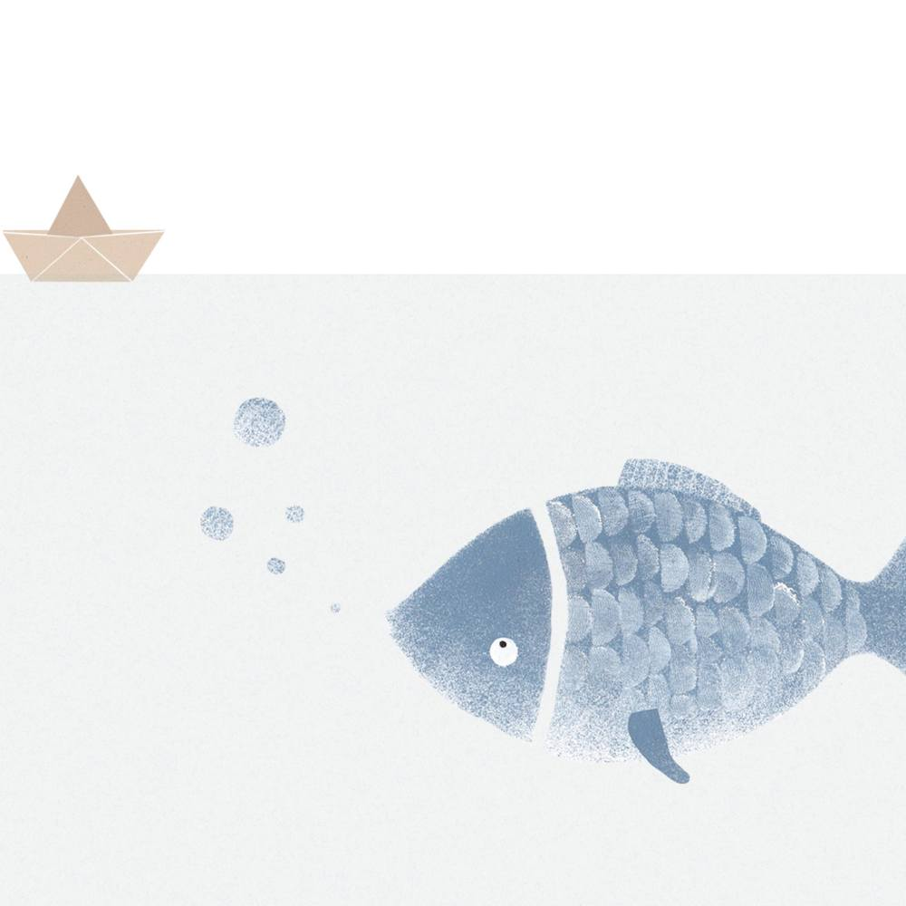 Fischillustration-Meer-See-Wasserleben