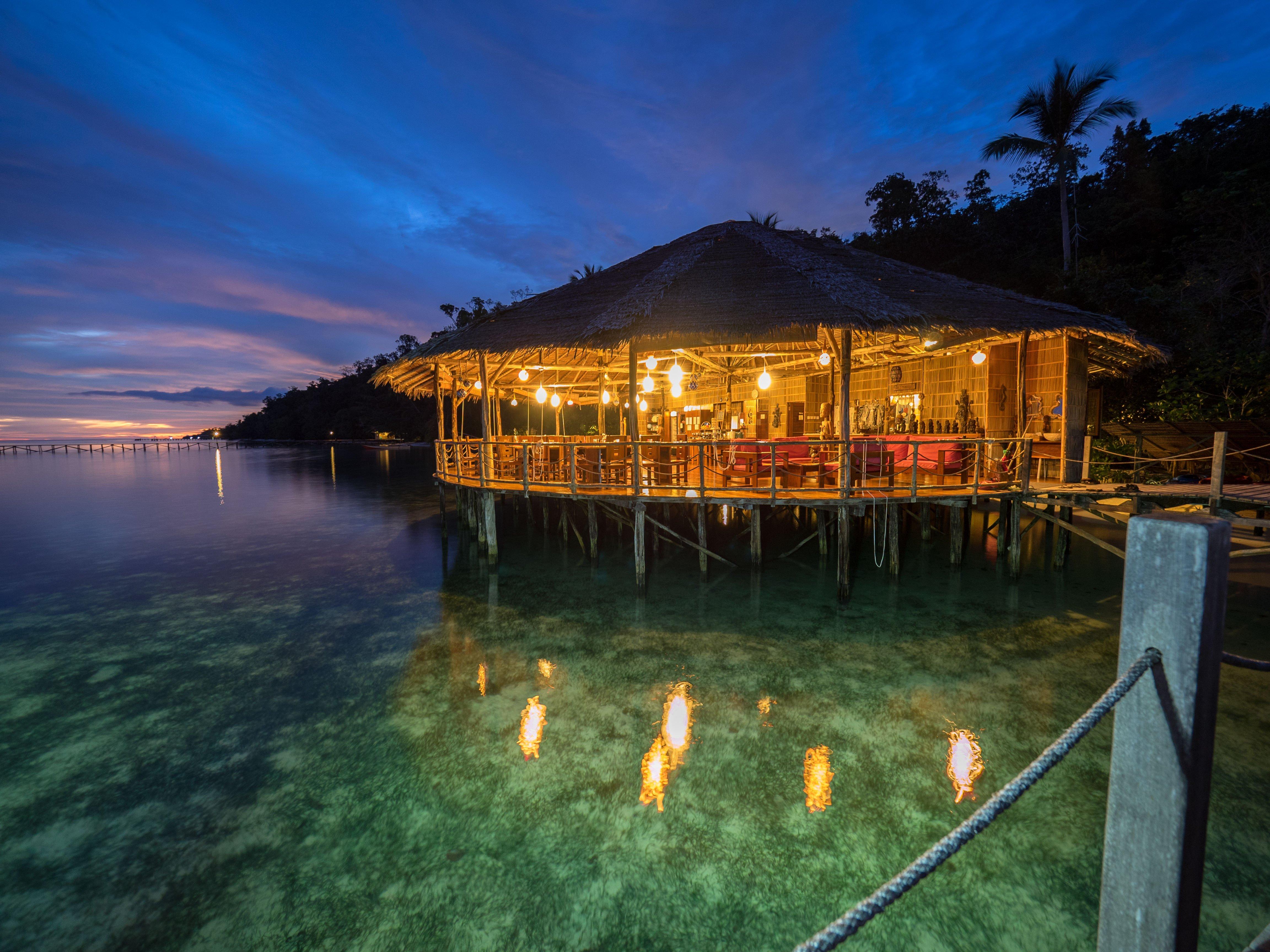 Restaurant Raja Ampat  Papua Explorers Resort