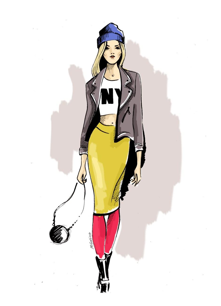 papuga z usa, magda galica, nyc style, Amerykanka, jak ubierają się Amerykanki