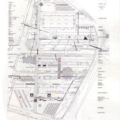 Oma Parc De La Villette Diagram Trailer Wiring 7 Way With Break Away Progetto Per Il 1998 01 Lo Spazio Aperto Si Organizza Fasce Tematiche