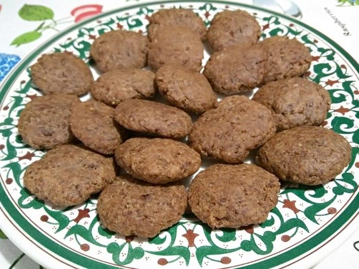 Minibizcochos de chocolate