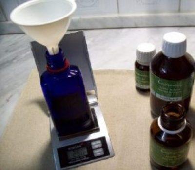 Pesada de aceites