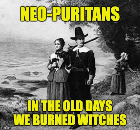Neo-puritans. In the old days we burned witches