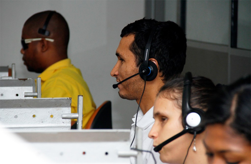 Discapacidad visual y Call Centers