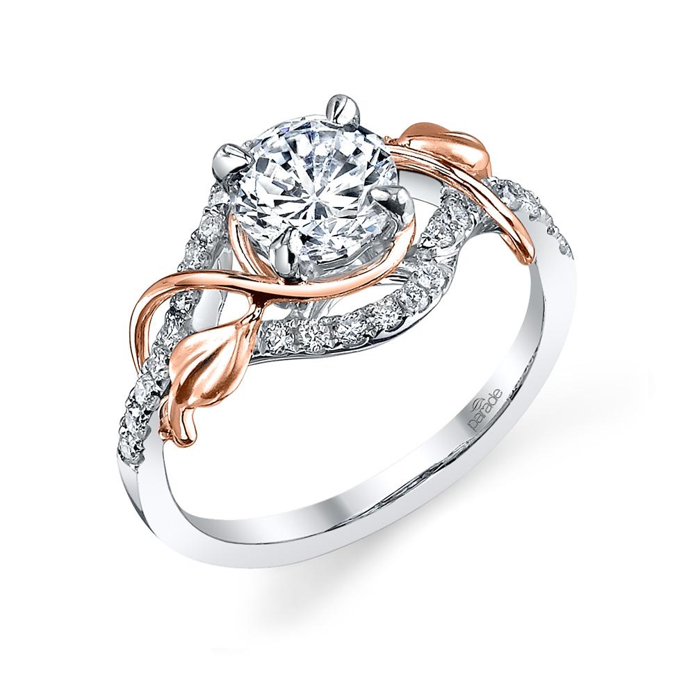 Lyria Bridal R3118R1  Parade Design  Designer Engagement Rings
