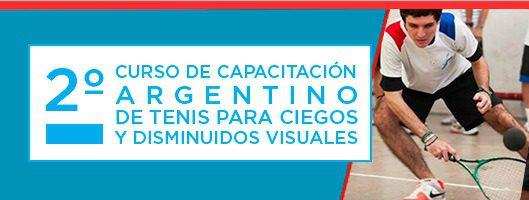 2do curso argentino de capacitación de tenis para ciegos y disminuidos visuales