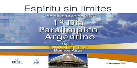 """Se viene el """"Día Paralímpico Argentino"""" en el Luna Park"""
