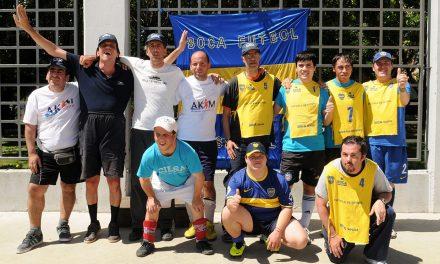 Jornada deportiva en Boca por el Día Mundial de las Personas con Discapacidad