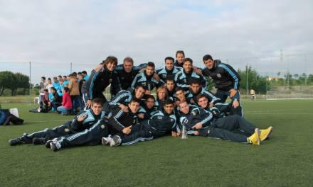Fútbol 7: Argentina, segunda en Portugal