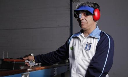 Tiro adaptado: Gentili, la esperanza argentina en la Copa del Mundo