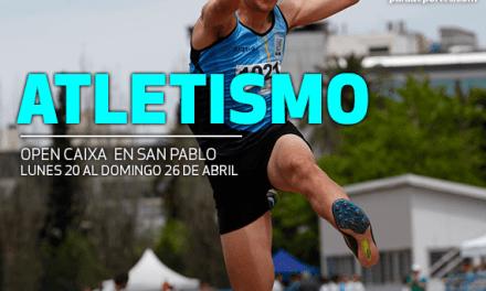 Atletismo adaptado: más medallas en el Open Caixa de Brasil