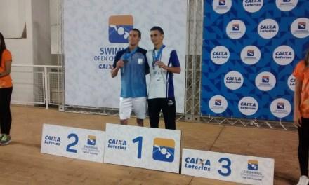 Natación adaptada: 8 medallas en el inicio del Open Caixa en Brasil