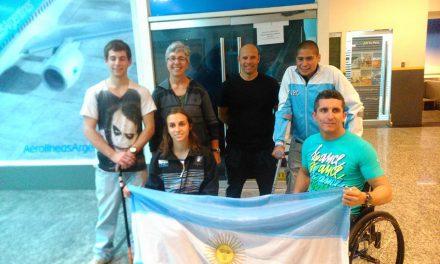 Paracanotaje: equipo argentino completo en San Pablo