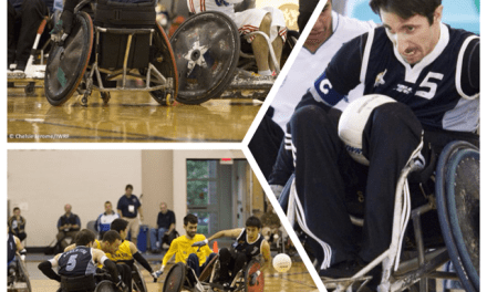Quad Rugby: Foa, capitán adentro y afuera