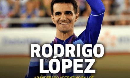 """Rodrigo López, abanderado argentino en Toronto: """"Es el sueño que todo atleta tiene y se me hizo realidad"""""""
