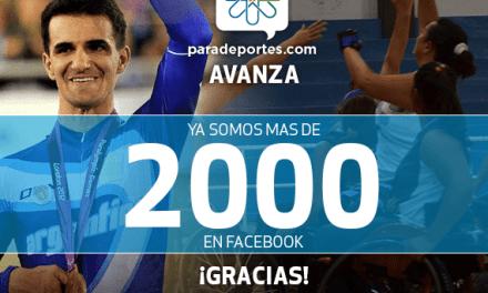 ¡Ya somos más de 2000 en Facebook!