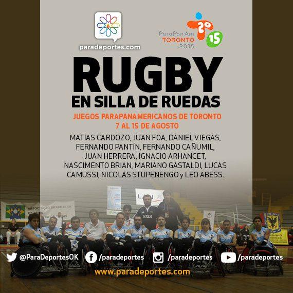 Quad Rugby: Argentina ya tiene sus 12 para Toronto