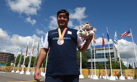 Atletismo / Baldassarri: El hombre 10