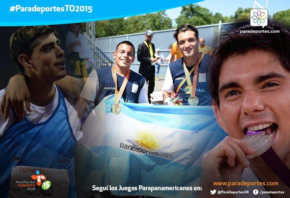 Día 6: seis medallas más para Argentina en Toronto