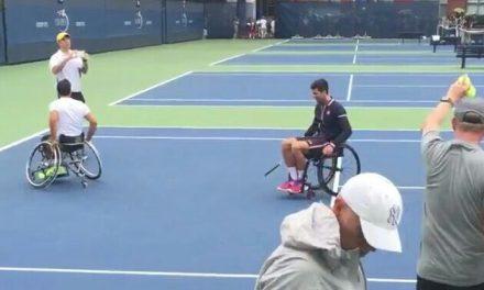 Djokovic y un gran gesto para el deporte adaptado