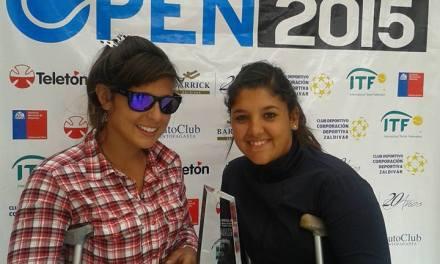 Tenis adaptado: Moreno y Pralong, campeonas en Antofagasta
