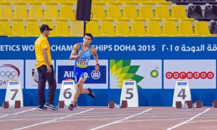 Atletismo Adaptado: Barreto arañó el podio en Qatar