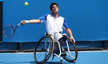 Tenis adaptado: Fernández avanza en Nottingham
