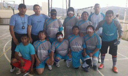 Fútbol para ciegos: Rosell y Popeye, al hexagonal