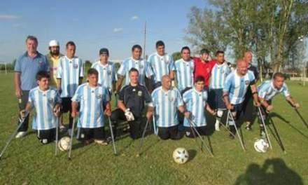 """Fútbol para amputados / Solorza: """"Queremos llevar Copa América a la Argentina"""""""