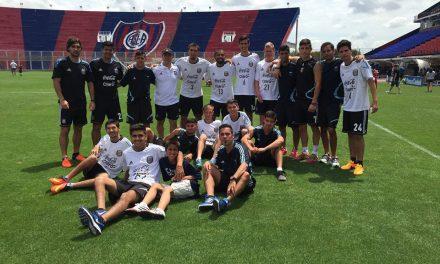 Fútbol 7: Los Tigres concentraron en San Lorenzo