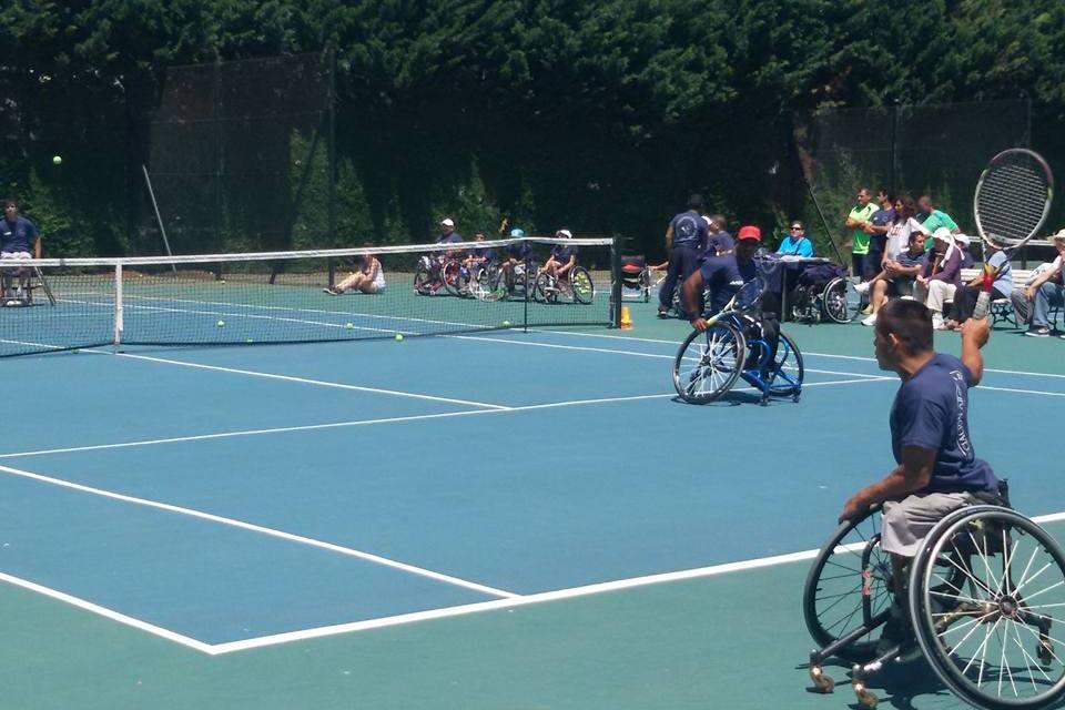 Tenis adaptado: cierre de año en el CENARD